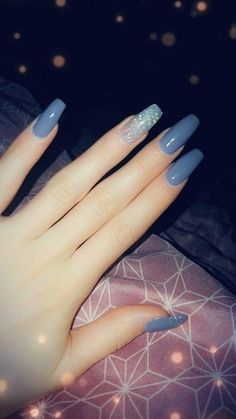 Naturenails with Acryl - #graduationnails #AcrylicNailsForSummer Simple Acrylic Nails, Best Acrylic Nails, Stylish Nails, Trendy Nails, Aycrlic Nails, Hair And Nails, Coffin Nails, Stiletto Nails, Graduation Nails