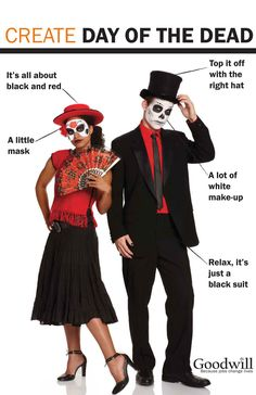 day of the dead costumes - Google Search
