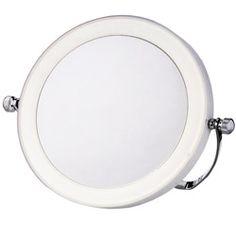 Zadro Dimmable Sunlight Vanity Mirror Satin Nickel 10x