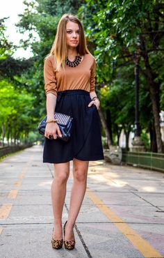 The Lovely Darlings: Animal print crush and Meli Melo accessories Meli Melo, Crushes, High Waisted Skirt, Fashion Bloggers, Skirts, Pink, How To Wear, Animals, Inspiration