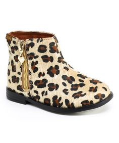 Look at this Cheetah Cecilia Boot on #zulily today!