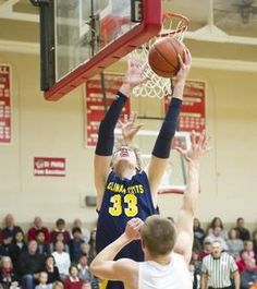 Aaron Cook of Climax-Scotts goes up for the basket against St. Philip in win for the No. 3-ranked Panthers on Friday.