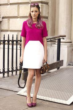 Street Style London Fashion Week primavera verano 2013: Eleonora Carisi