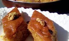 Εντυπωσιακή καρυδόπιτα με μπόλικη κρέμα πατισερί French Toast, Muffin, Breakfast, Food, Gastronomia, Morning Coffee, Essen, Muffins, Meals