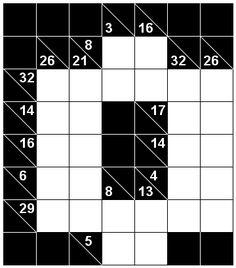 Number Logic Puzzles: 22642 - Kakuro size 2