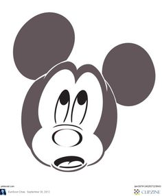 mickey mouse vampire pumpkin template - disney pumpkin faces stencils your own disney