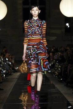 Trippy. Hypergrafic. Body Conscious. This is how Riccardo Tisci sees next Summer at Givenchy. The designer has decided to propel the LVMH owned maison into a new age straight out of Burning Man, th...