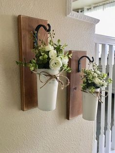 Farmhouse Living Room Decor Hanging Planter with Greenery or Flowers Rustic Wall Decor Sconce with Flowers Country Wall Decor Farmhouse Wall Decor Living Room Country decor farmhouse Flowers greenery Hanging living Planter room Rustic Sconce Wall Country Wall Decor, Rustic Wall Decor, Rustic Walls, Country Style Decorating, Country Living Room Rustic, Patio Wall Decor, Tuscan Decor, Rustic Farmhouse Decor, Entryway Decor