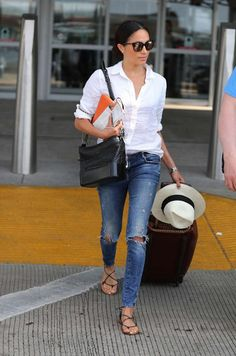 Meghan Markle Classic Style Outfit