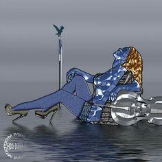 L'archet bleu par Abelard