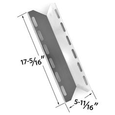 REPLACEMENT STAINLESS STEEL HEAT PLATE FOR PERMASTEEL, CHARMGLOW, HOME DEPOT, NEXGRILL, PERFECT FLAME, PERFECT GLO GAS GRILL MODELS Fits Compatible Permasteel Models : PG-50400S