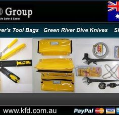 When in and around the water it is important to ensure that your safety is the number one priority. KFD Group stocks high quality equipment that helps to make the lives of their customers easier and to assist in prioritizing their safety. Scuba Diving Gear, Green River, Green Bag, Safety, Number, Group, Water, Easy, Diving Equipment