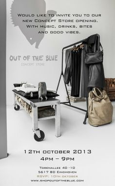 It's my visual life - Paulina Arcklin: OUT OF THE BLUE - NEW CONCEPT STORE and OPENING
