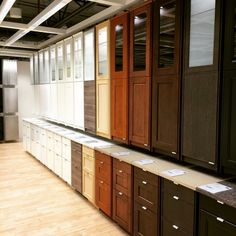 Ikea Ekestad doors/drawers are on the far right. Particleboard with an oak veneer - IKEA Kitchen Pantry Storage, Ikea Kitchen Cabinets, Ikea Sektion Cabinets, Backsplash With Dark Cabinets, Kitchen Upgrades, Kitchen Renovations, Brown Kitchens, Kitchen Models, Dark Brown