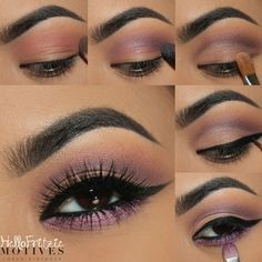 This #makeup look, called the TeaParty look, can be achieved through Motives #cosmetics.  Get the look now at #motivescosmetics!
