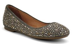 Women's Emma Flat - Grey Suede Rhinestone | Sperry Top-Sider