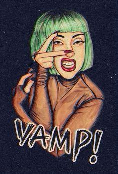 Lady Gaga by Helen Green VAMP!