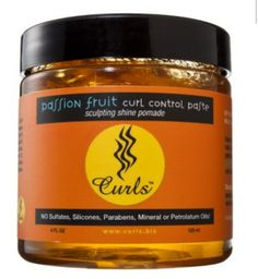 This curl control paste is the TRUTH when it comes to laying down my edges. Smells delicious and gives great hold with all natural ingredients. A must have for me!