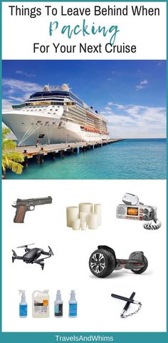 Packing for your next cruise vacation? Here's a list of things that won't be allowed onboard the ship. : Packing for your next cruise vacation? Here's a list of things that won't be allowed onboard the ship. Packing For A Cruise, Cruise Tips, Cruise Travel, Cruise Vacation, Packing Tips, Vacations, Europe Packing, Travel Money, Travel Tips