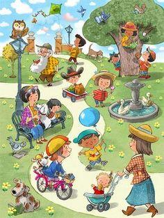 John Nez Illustration - Peter Panda { a child's world;