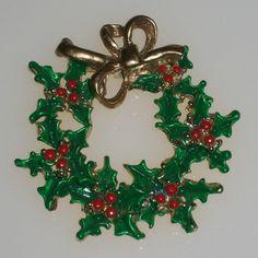 Vintage Christmas Pin