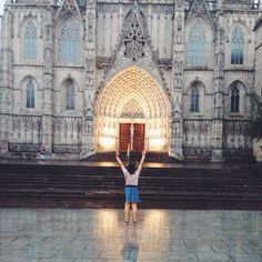 I pray for beauty of Barcelona. #barcelona