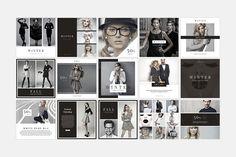 Vela Social Media Pack by SlideStation on @creativemarket