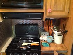 Love our RV kitchen
