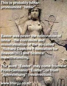 Ishtar and Easter
