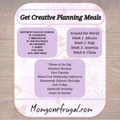 Last week we talked about WHY you should be meal planning for a year and today we will talk about HOW to plan months of meals in minutes with four easy steps. Grab a pen and paper and let's get started. This post may contain affiliate links which means that Read More