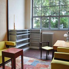 Walter Gropius's #office at the Weimar #bauhaus University.