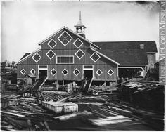 The Perley and Pattie sawmill, Ottawa, Ontario, 1872.
