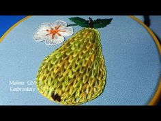 EMBROIDERY: PORTUGUESE STITCH \ ВЫШИВКА: ПОРТУГАЛЬСКИЙ ШОВ - YouTube
