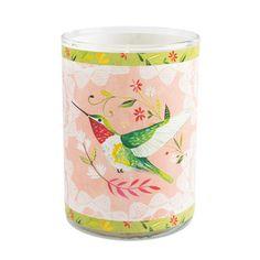 katie daisy hummingbird candle
