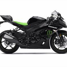 Kawasaki Ninja... minus the monster sign lol #guiltypleasure #impractical #still want!