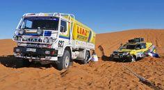 Liaz na Dakaru: Galerie českých speciálů Rally Raid, 4x4 Trucks, Road Racing, Cars And Motorcycles, Offroad, Om, Paris, Vehicles, Classic