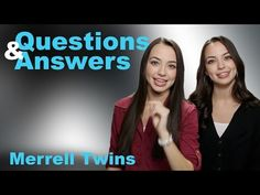 Questions & Answers Part 5 - Merrell Twins - YouTube