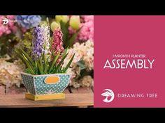 SVG File - Hyacinth Planter - Assembly Tutorial - YouTube