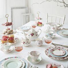 Gorgeous tableware from Royal Albert