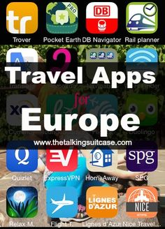 These are the apps that are currently on MY iPhone.   We use these apps all the time, sometimes daily, in Europe.