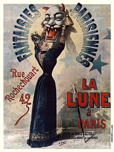 Vintage French Circus Poster Prints