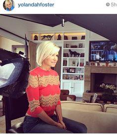Yolanda Foster's Red / Orange Lace Inset Sweater | Big Blonde Hair : Big Blonde Hair http://www.bigblondehair.com/real-housewives/rhobh/yolanda-fosters-red-orange-lace-inset-sweater/