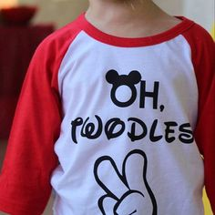 Oh Twodles Two Year Old Shirt Im Lets Party 2nd Birthday Raglan Boys Boy Shirts