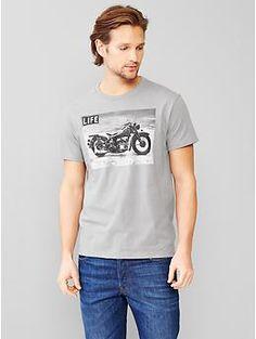 Life® motorcycle T-shirt