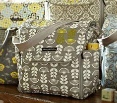 Cute bag + Diaper Bag Essentials
