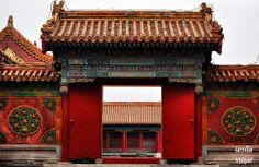 Ciudad Prohibida · #Pekin #Beijing . #China Ancient Chinese Architecture, China Architecture, Modern Architecture House, Futuristic Architecture, Modern Houses, Chinese Gate, Chinese Courtyard, China Garden, Asia