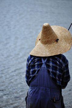 Pykes Creek Fisherman by JanetGrima, via Flickr