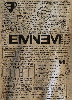 Listen to every Eminem track @ Iomoio Eminem Logo, Eminem Poster, Eminem Lyrics, Eminem Tattoo, Eminem Wallpaper Iphone, Eminem Wallpapers, Rap Wallpaper, Rap God, Freestyle Rap