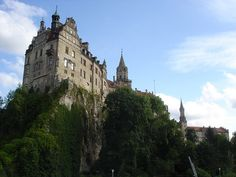 The castle of Sigmaringen in Germany.