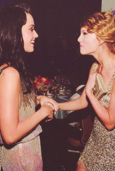 Katy Perry + Taylor Swift.